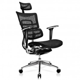 tgeg pro ergonomic multi function mesh office chair with adjustable lumbar support in black