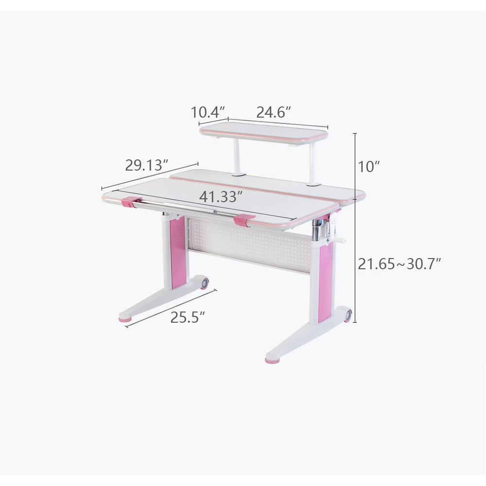 Kids Sit And Stand Ergonomic Height Adjule Desk The Care