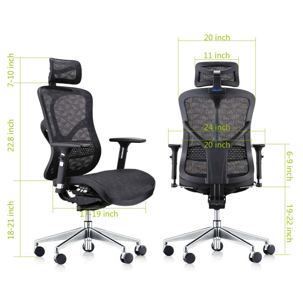 Advanced Ergonomic Mesh Office Chair   TGEG Office Furniture